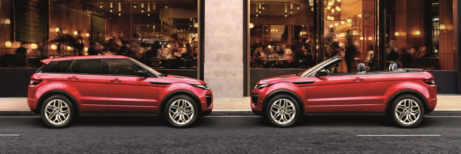 Range Rover Evoque 5 Door/Convertible