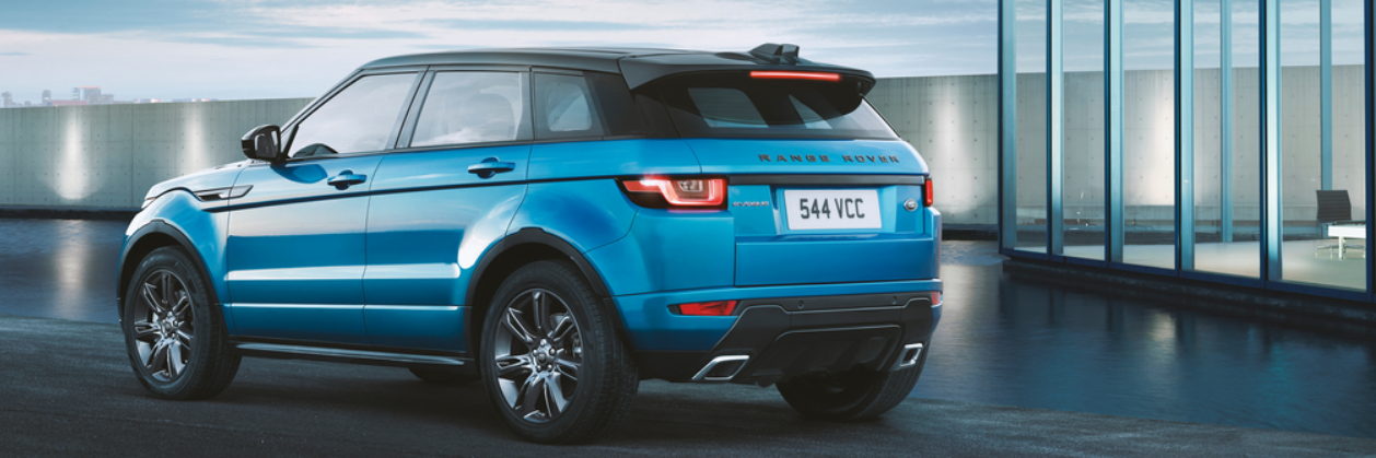Ranger Rover Evoque Back